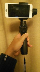 Osmo mobileとiPhone 7 Plus