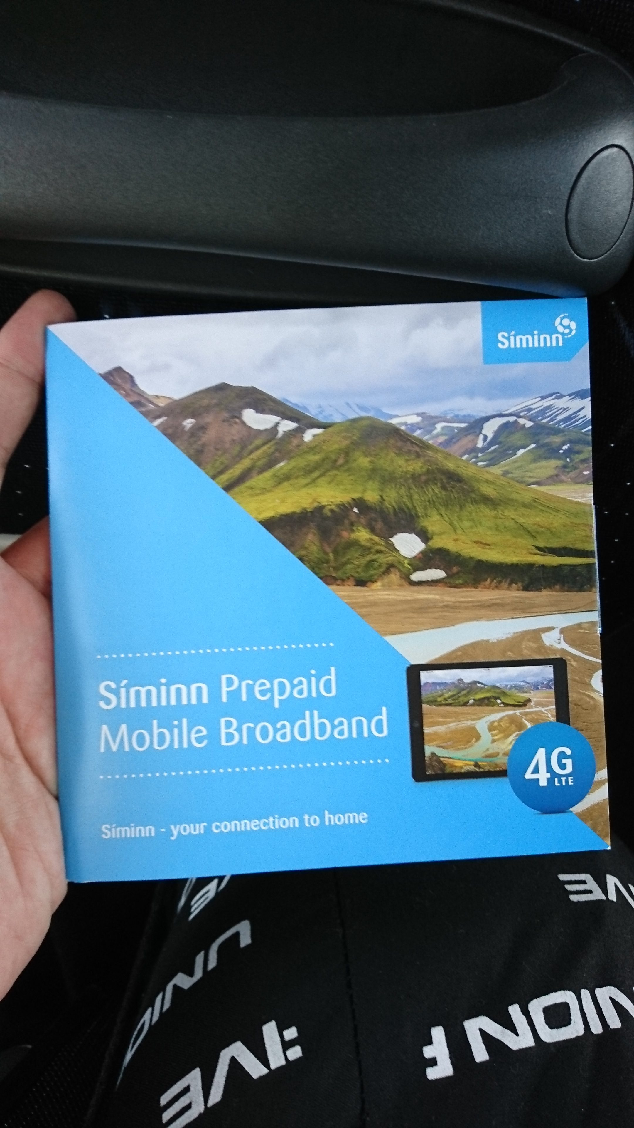 北欧は安くて便利!Part.2!アイスランド・レイキャビークでSIMカードを購入、使ってみた