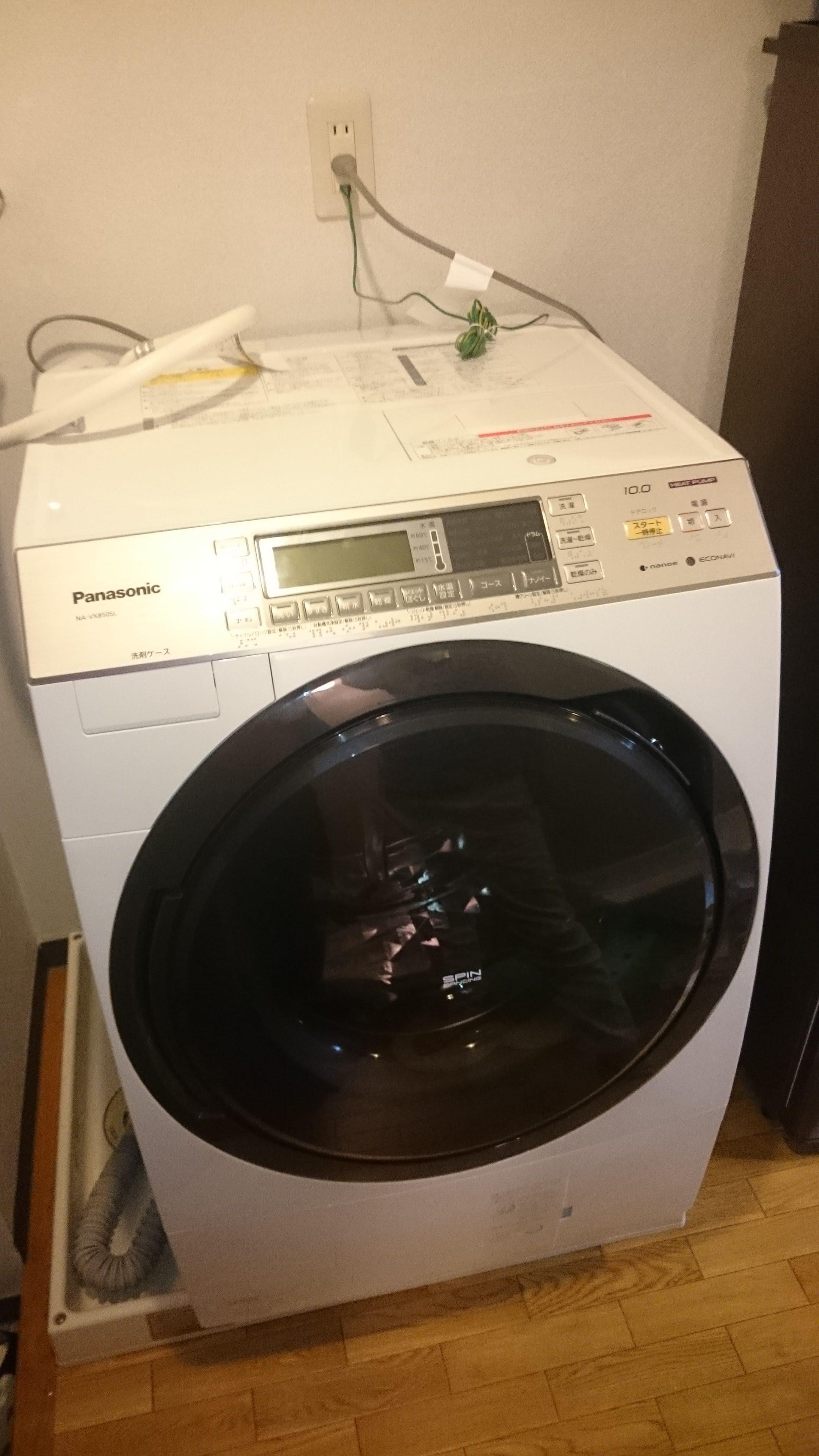 洗濯機は10年選手!いいものを選ぼう!パナソニック NA-VX850SL-Wを1年半使ってみて