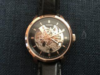 Fossilの機械式自動巻き腕時計、TOWNSMAN ME3084を衝動買いしてしまった!