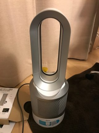 Dyson Pure Hot+Cool Link HP02WSを買った!暖かいよ!!