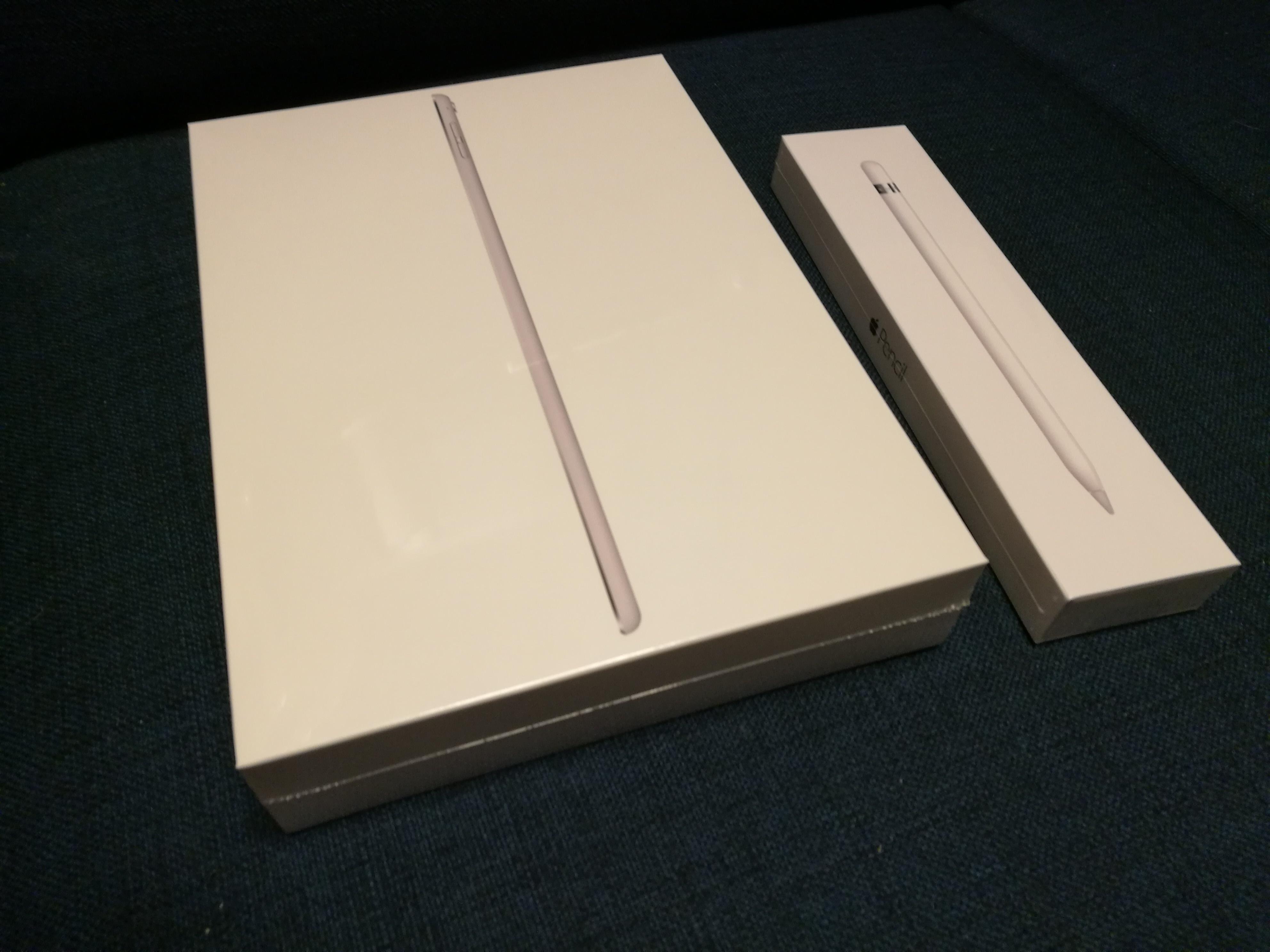 iPad Pro 9.7インチとApple Pencil