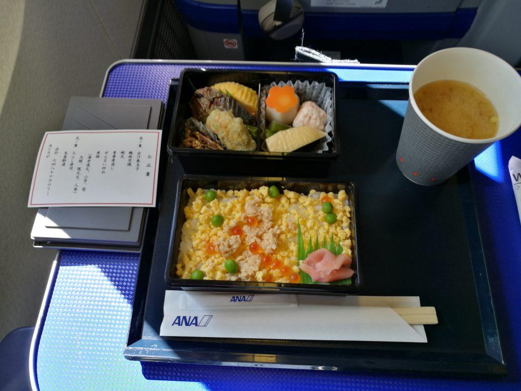 ANA国内線機内食(昼食)