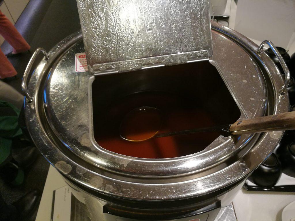 羽田国際線ANAラウンジ 味噌汁