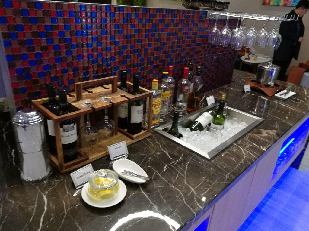 SATS Premier Lounge アルコール類