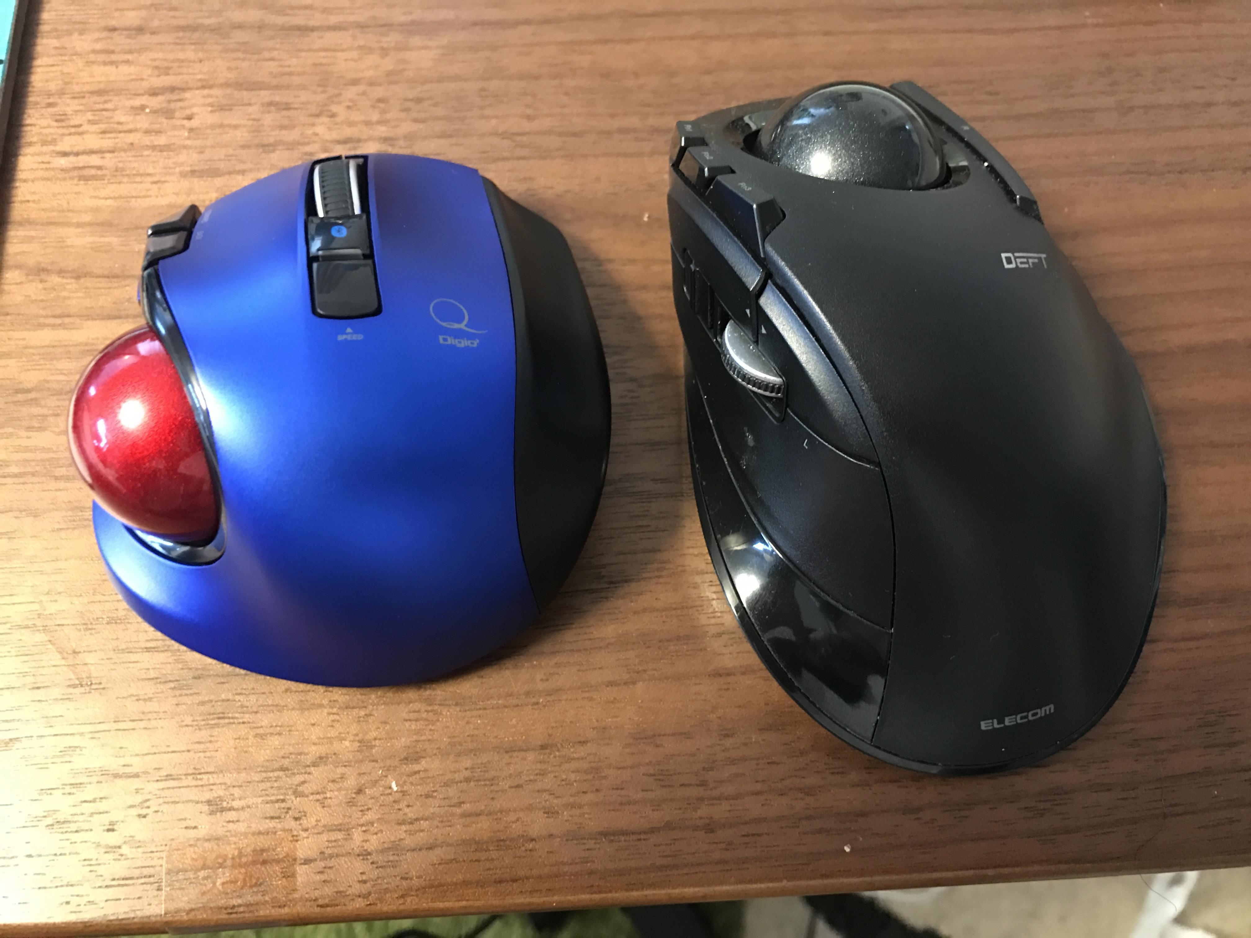 ポータブル極小トラックボール Digio2 Qが新発売!親指操作タイプで唯一のBluetooth接続!やっぱり親指だな!
