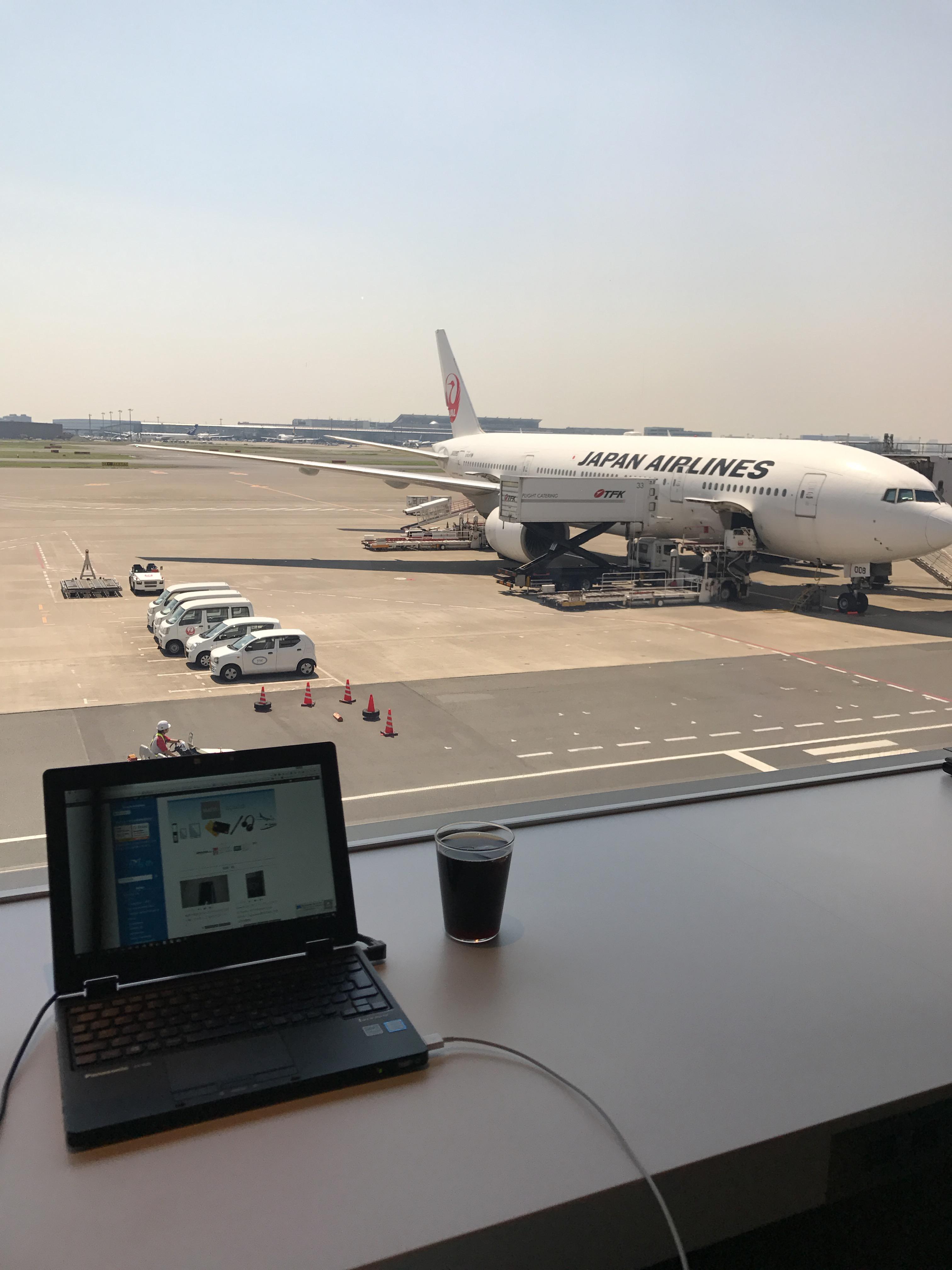 羽田空港国内線第一ターミナル(JAL)のカードラウンジ「POWER LOUNGE SOUTH」に行ってみた!