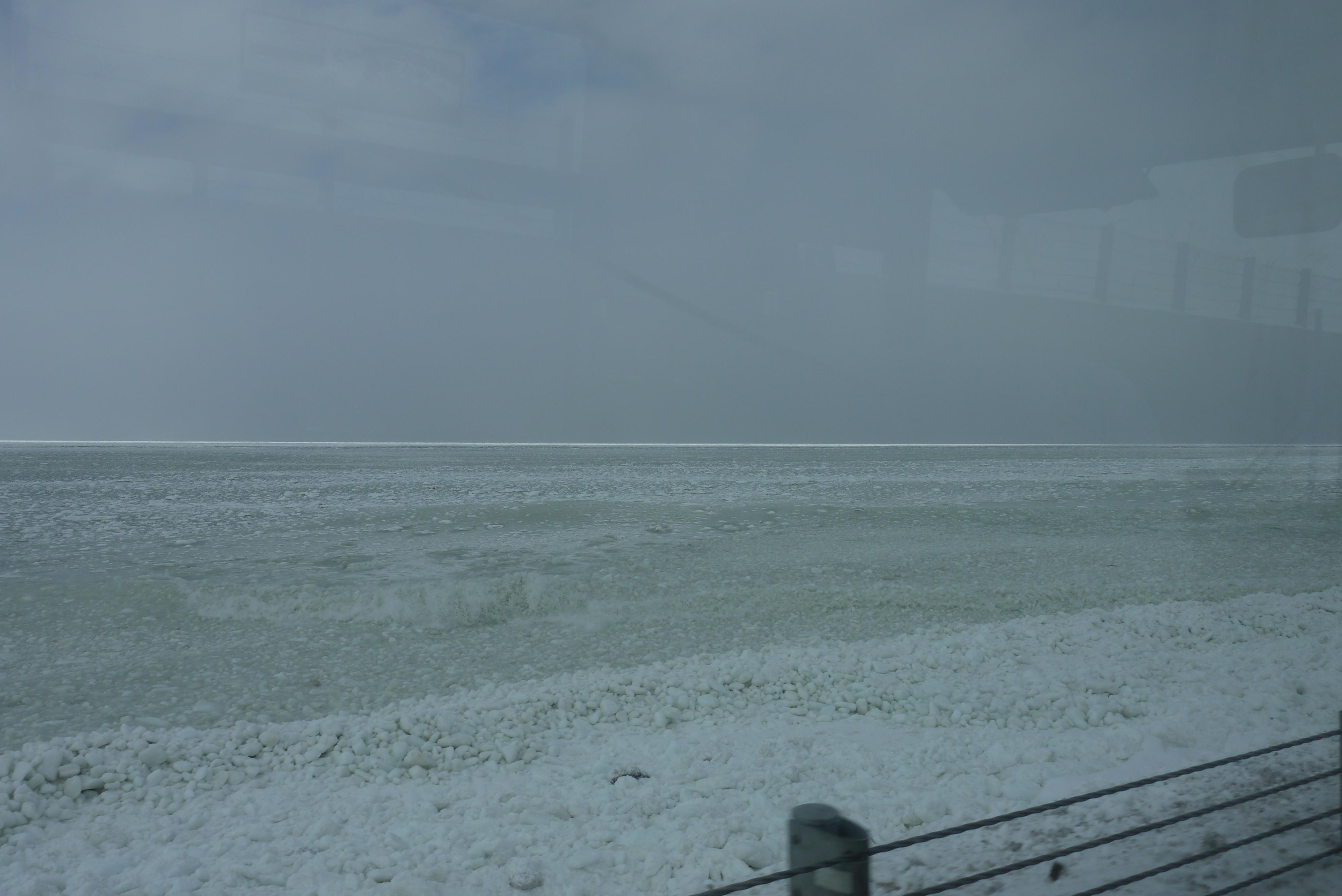 [旅の記憶]駅弁の旅2011~春の流氷特別編~(9)釧路→ウトロ