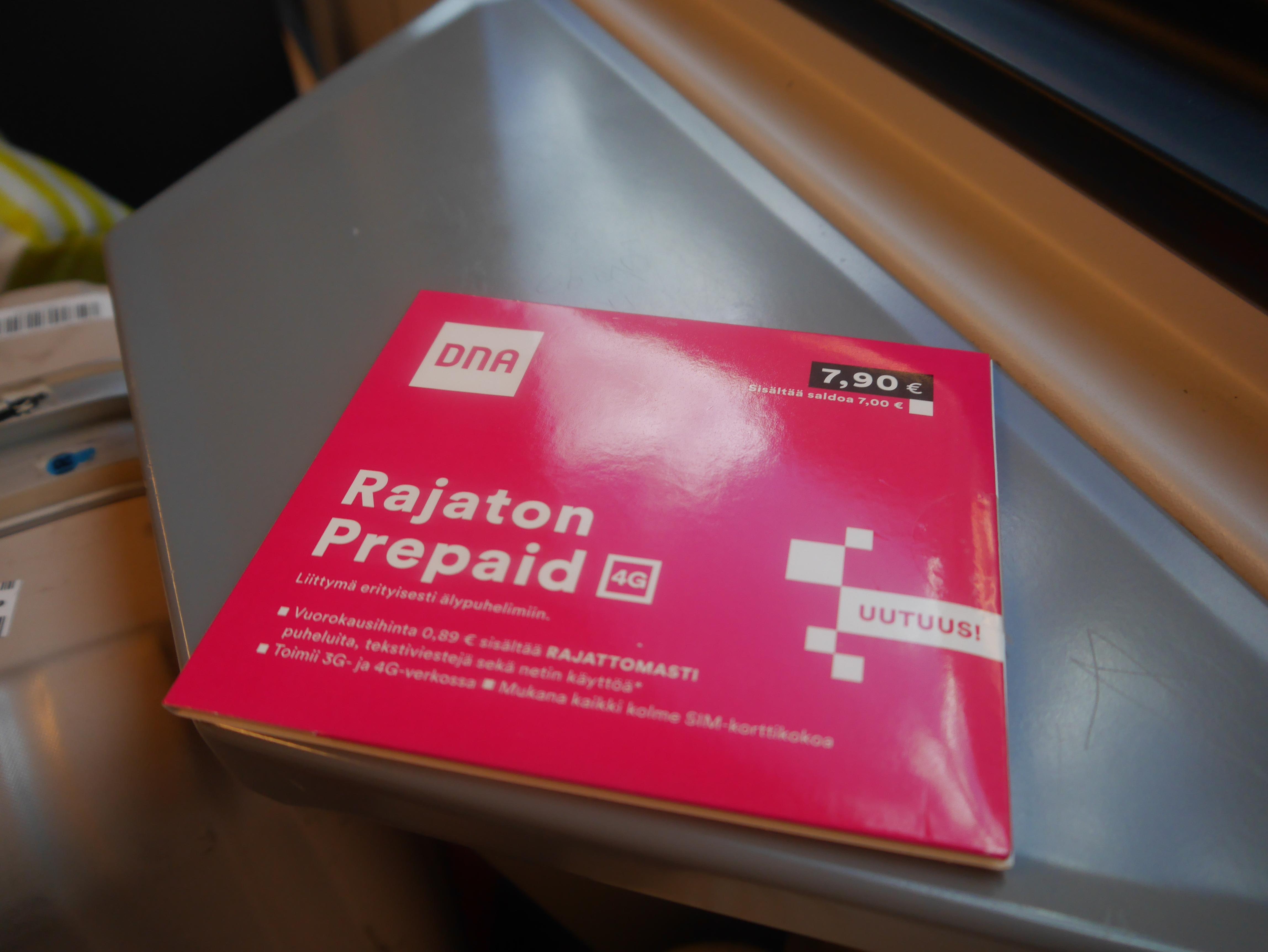 北欧は安くて便利!フィンランド・ヘルシンキに降り立ったとき最適なSIMカード