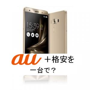 auユーザーで、(電話回線を維持して)格安スマホ1台で使う方法を考えてみよう!