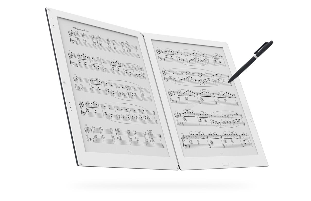 今年は電子ペーパーが熱い!?SONYが新製品「DPT-RP1」発表、テラダミュージックスコアも2画面楽譜電子スコア「GVIDO」発表!